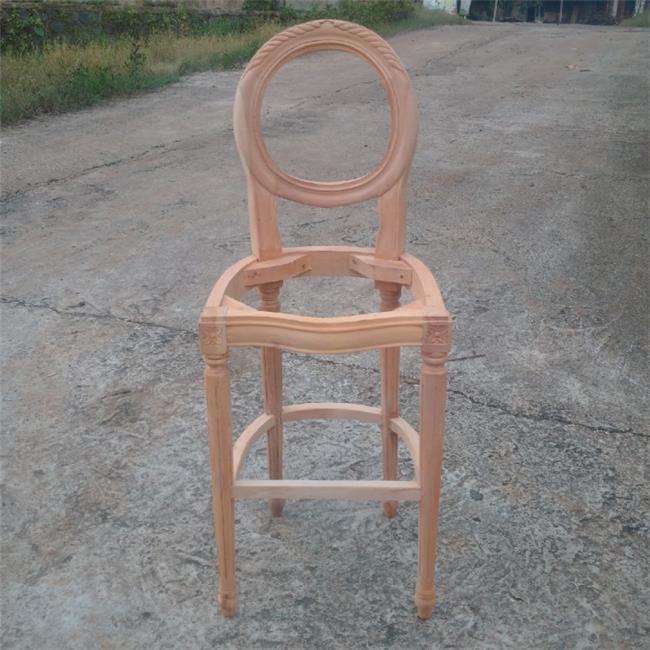 כיסא בר עץ מלא - Treemium - חלומות בעץ מלא
