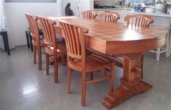 שולחן מרשים מעץ 1846 - Treemium - חלומות בעץ מלא
