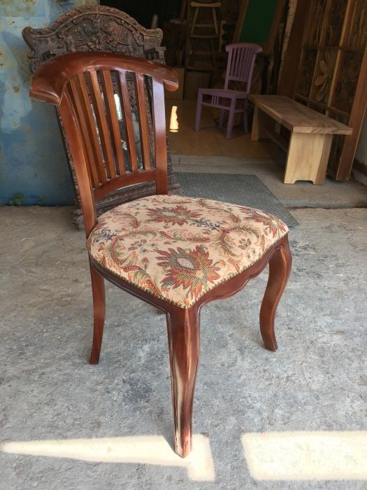 כסא עץ דגם 1173 - Treemium - חלומות בעץ מלא