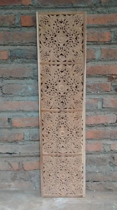 עיטור קיר עבודת יד - Treemium - חלומות בעץ מלא