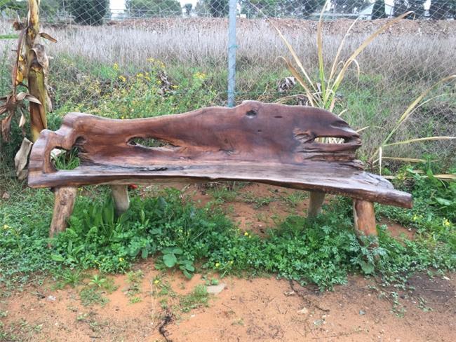 ספסל שורש 180 - Treemium - חלומות בעץ מלא