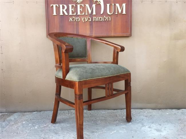 כיסא ייחודי מעץ מלא  - Treemium - חלומות בעץ מלא