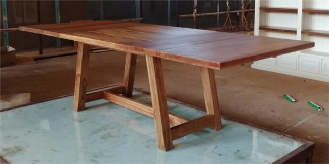 שולחן אוכל מעץ מלא  - Treemium - חלומות בעץ מלא