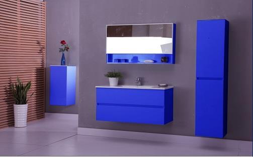 ארון אמבטיה כחול - חברה ראשון לציון