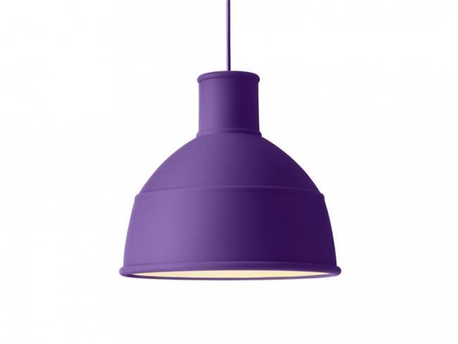 מנורת תלייה סגולה - יאיר דורם תאורה