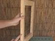 בניית מסגרת לתליית פתקים
