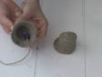 פעמוני מלט בתבנית חול