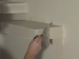 בניית מדף גבס