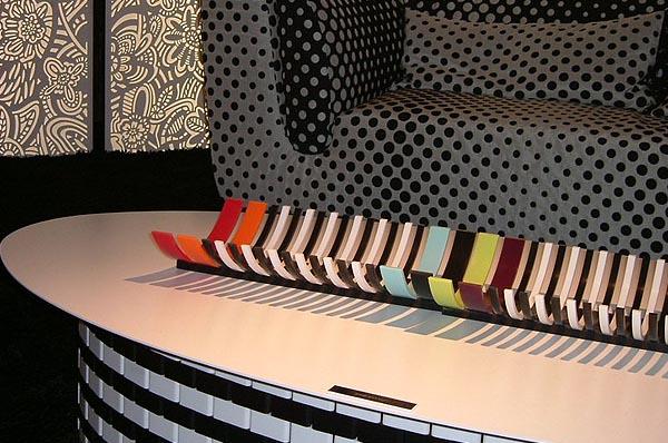 כלי שולחני מרצועות קוריאן <br/>(צילום: זיוה בר)