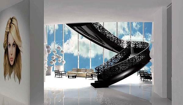 עיצוב של מרסל וונדרס לבית המלון Mondrian South Beach<br/>(צילום: יח