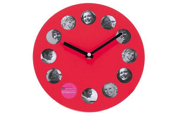 שעון צבעוני עם תמונות אהובות ייצור מראה אטרקטיבי,100 ¤ ב-