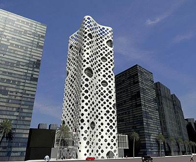 מגדל מסחרי בדובאי, גסי רייזר וננקו אוממוטו <br/>(הדמיית מחשב)<br/>
