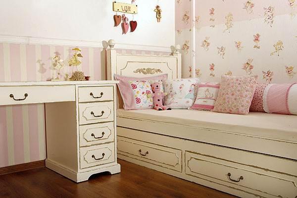 חדר ילדים בסגנון וינטאג בעיצובה של אלישבע צור<br/>(צילום:יח