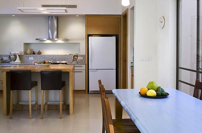 המטבח בבית משפחת דביר רותם, (צילום: שי אפשטיין)