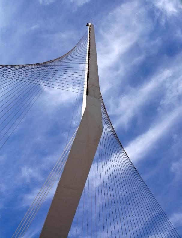 גשר המיתרים שנוסף לעיר לאחרונה, (צילום: istock)