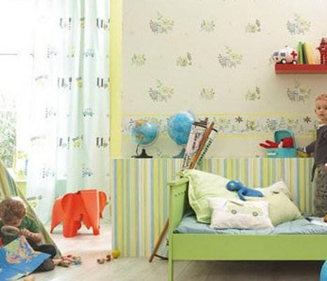 אם הטפט מיועד לחדרי ילדים, כדאי להגיע לחנות לראשונה ללא הילד לבדיקת האפשרויות המתאימות בעיניכם (צילום: יח