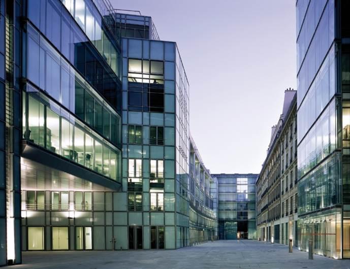 המשרדים הראשיים של חברת היוקרה cartier בפריז בתכנון בופיל (צילום: יח