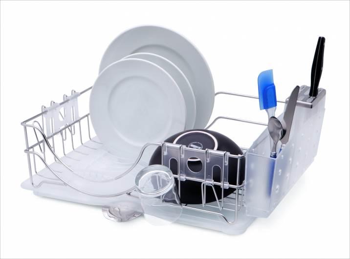 כלי מיוחד לייבוש כלים, רשת