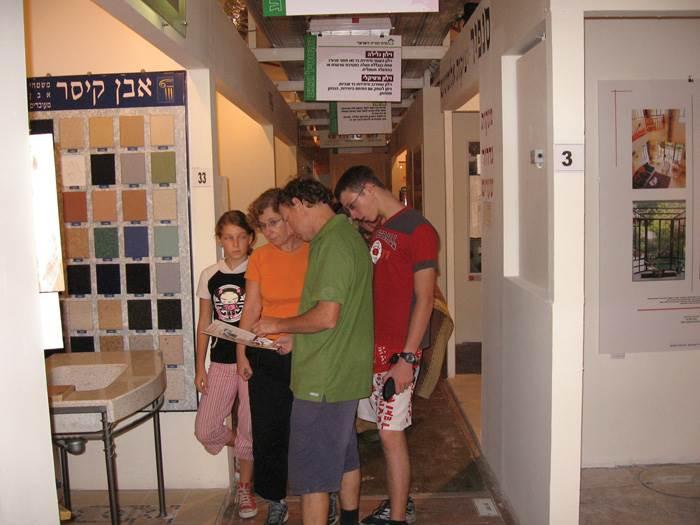 שלושה ימים של הרצאות וייעוצים. פסח במרכז הבנייה הישראלי בשנה שעברה (צילום: יח