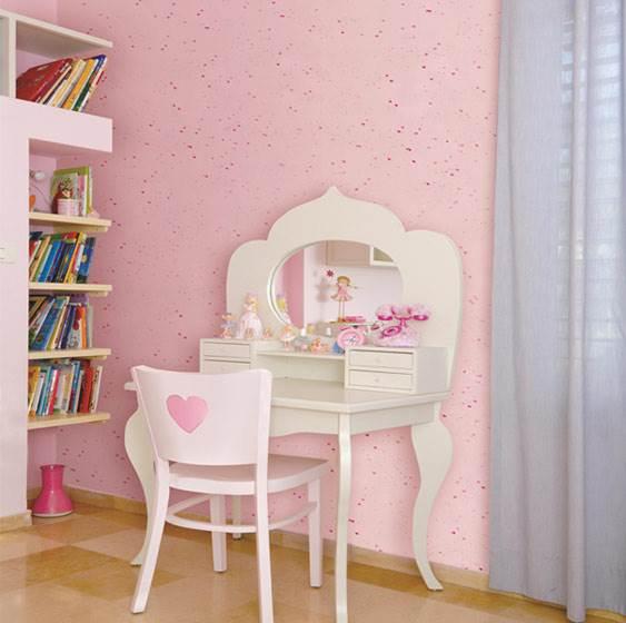 לבבות מנצנצים על כל צבע קיר שתבחרו. אפקט הצבע החדש מבית נירלט (צילום: יח
