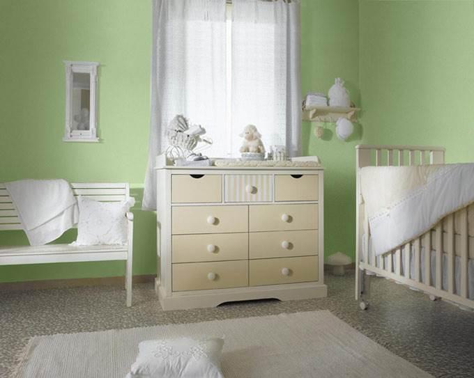 לתינוק בן יומו עד סוף שנתו השנייה מומלץ ללכת על גווני פסטל רכים ומרגיעים (צילום: יח