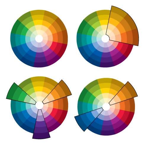 בדקו בגלגל הצבעים: משפחת גוונים מסתדרת נהדר, גוונים סמוכים יוצרים הרמוניה וצבעים מנוגדים משלימים זה את זה ויוצרים ניגוד דרמטי (הצילום באדיבות נירלט)