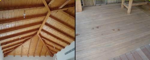 העץ המוכר והטוב תמיד פופולארי על גגות בתים וקלאסי בתור פרקט לרצפה. מוצרים של חברת