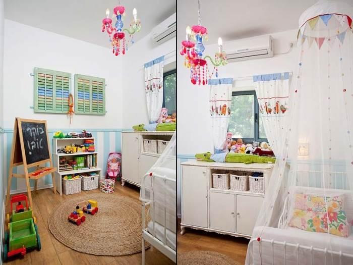 החדר האהוב ביותר בבית: חדר הילדים (צילום: בועז לביא)
