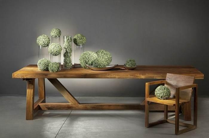 שולחן ANDREAS של גלריית VASTU בין5500-13500 ¤ במקום 6900-17000 ¤, בהתאם לגודל (צילום: אלעד גונן, סטודיו שגב)