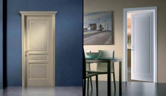בדלתות פנים למינטו של לה פורטה ניתן לשלב זכוכית, צוהרי אור ופסי אלומיניום בקשת רחבה של אפשריות במחירים המתחילים ב-990 ¤ (צילום:יח