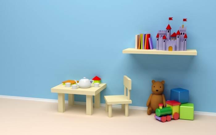 חדר כחול. הכניסה לבנים בלבד? (צילום: fotolia)