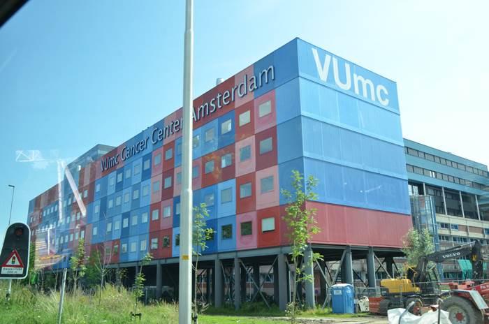 בית חולים בהולנד על טהרת המכולות (צילום: אורית פנחס)