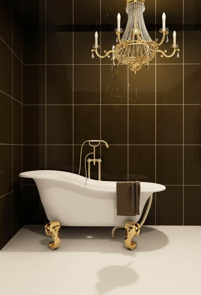 מזכירות יצירות אמנות של ממש. אמבטיות בעלות קימורים מסוגננים (צילום: אילוסטרציה)
