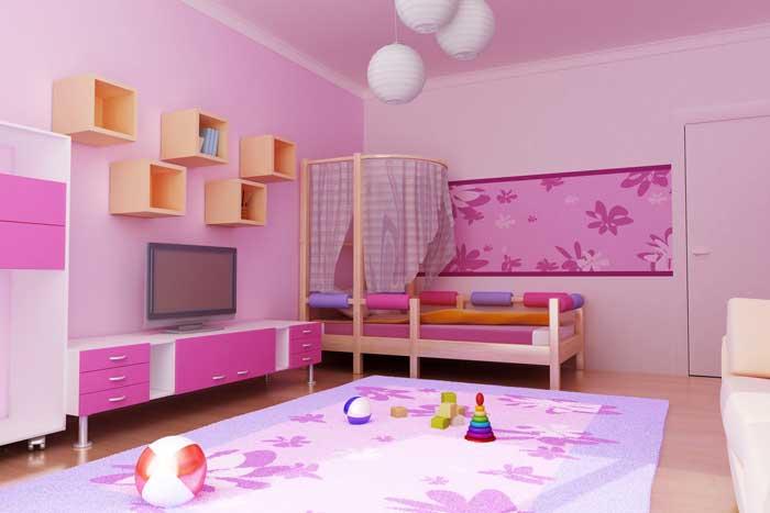 איזה צבע בוחרים? קירות וריהוט צבעוניים בחדר של נירלט. צילום: דן לב