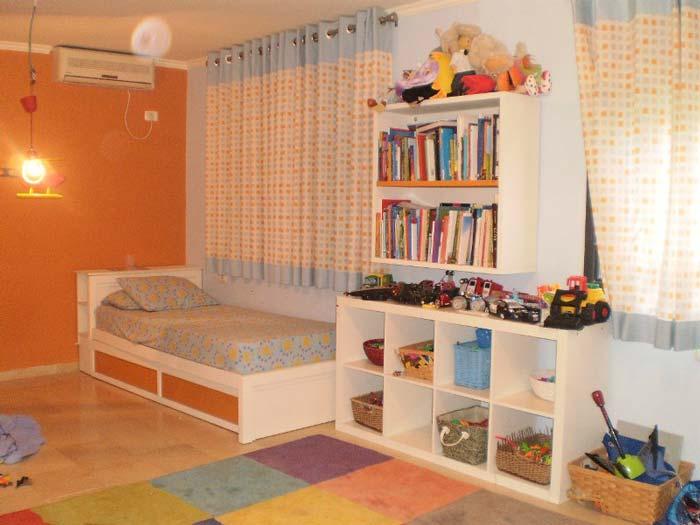 חדר ילדים קסום במושב בצת