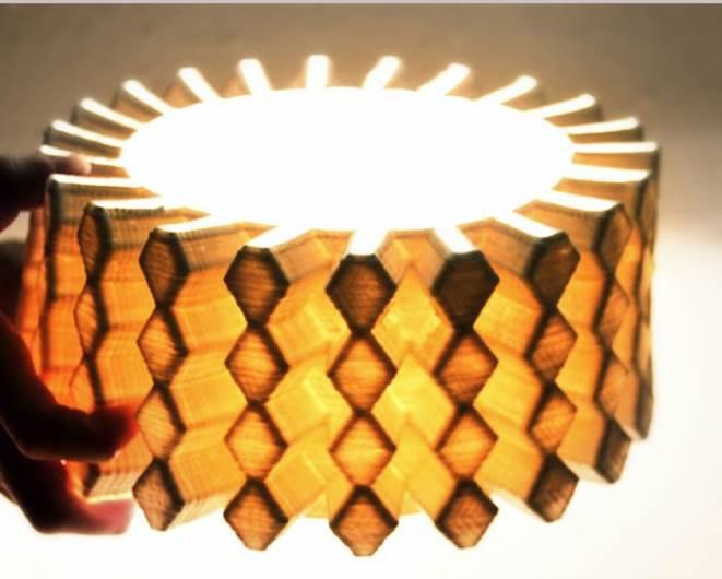איך מדפיסים קרמיקה - גוף תאורה קרמי בעיצוב סטודיו Under. צילום: יחצ