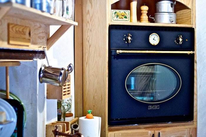 תנור באווירת רטרו יכניס קצת צבע למטבח