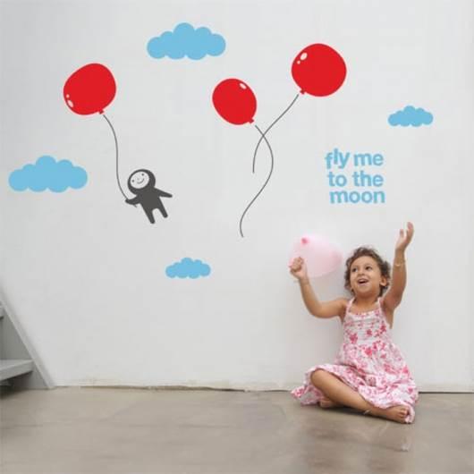 מדבקה מעוצבת לחדר הילדים - חברת Look.co.il