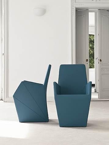 הכחול חוזר - כורסא בעיצוב עתידני של נטורה רהיטי יוקרה