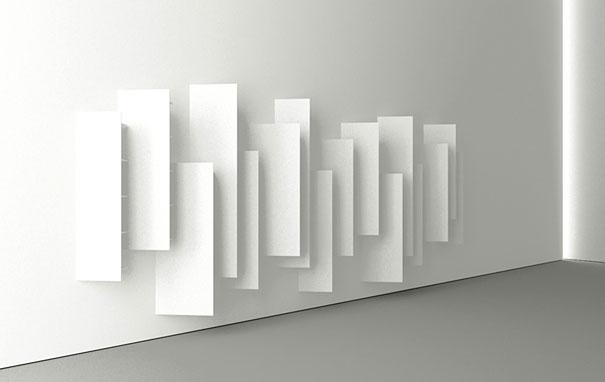 מדפים מתעתעים: אי אפשר להבחין בספרים. עיצוב: Victor Vasilev