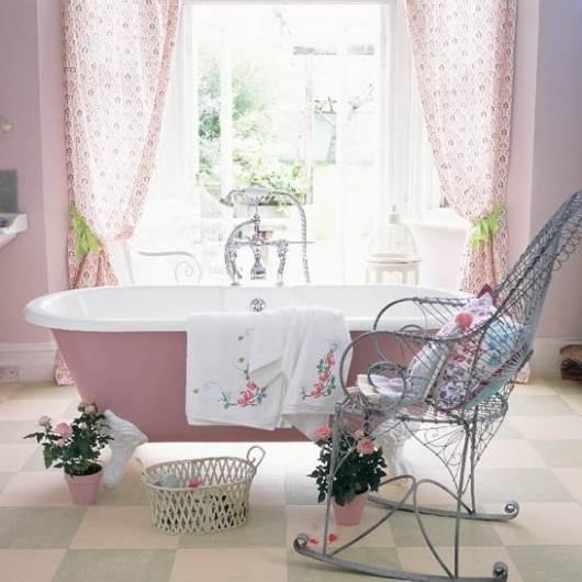 עיצוב אלגנטי ומקסים לחדר האמבטיה. מתוך: housetohome.co.uk