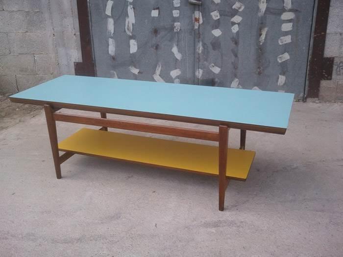 שולחן סלון וינטאג