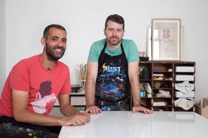 צילום משותף יעקב (משמאל) ושגיא. צילום: הגר ציגלר.