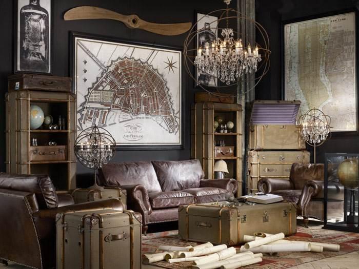 אפשר להשתמש גם  בטראנק (מזוודה) לצד ספה או כורסא- זו חלופה קצת יותר נוסטלגית, אבל מאוד טרנדית היום. להשיג בפנטהאוז רהיטים.