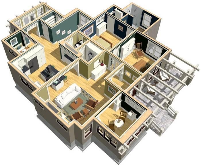התאמה אישית של ריהוט לצד ליווי והדרכה מקצועיים - Home Designer Suite (צילום מסך)