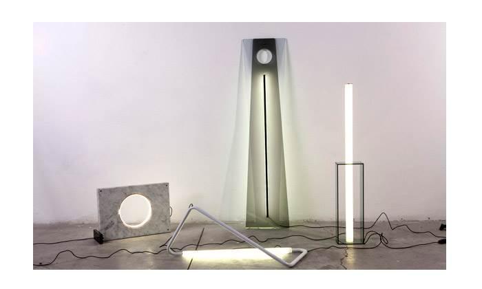 קולקציית אובייקטי אור של נעמה הופמן. צילום: יעל אנגלהרט.