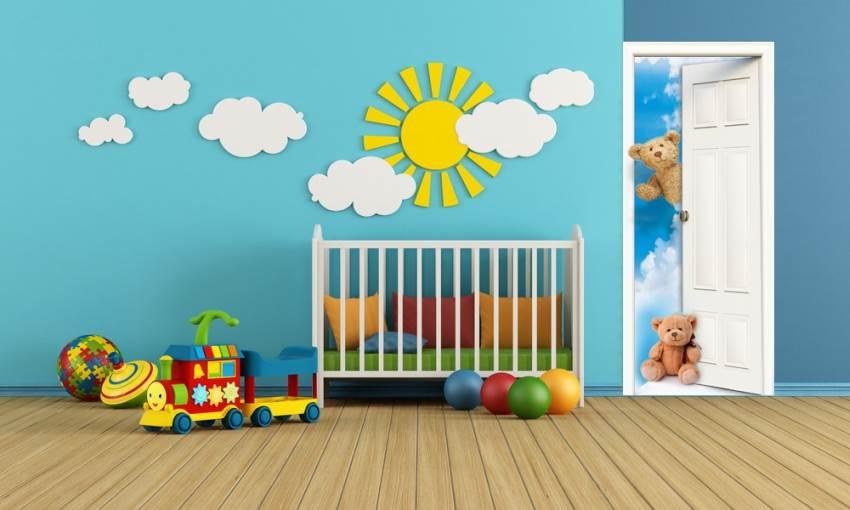 עיצובים חמודים לחדר הילדים: מגנט לדלת של FUNKYDOOR