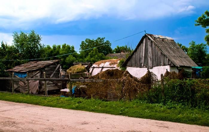 מבט על אחד מהכפרים ברומניה -מחוז טרנסילווניה