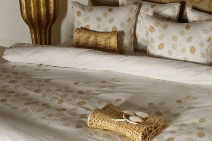 עיצובים פסטליים ומוטיבים מרווחים יותר: כלי מיטה של אופיס טקסטיל. צילום: יח