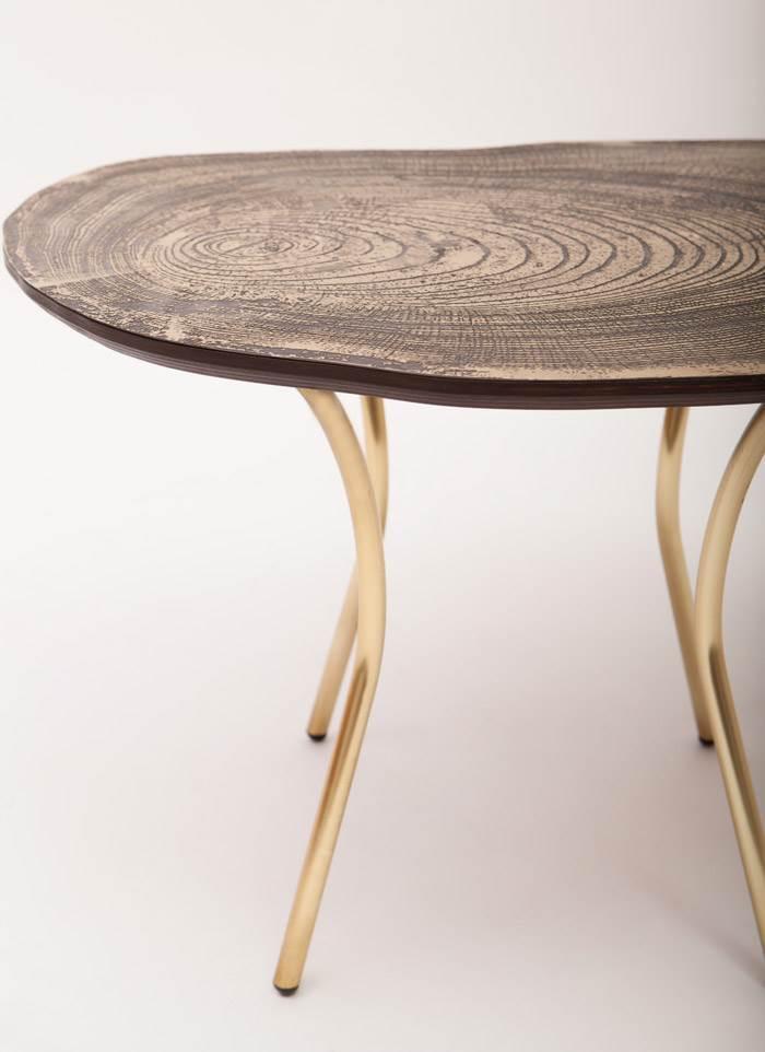 שולחן קפה LEAN. צילום: רותם להב